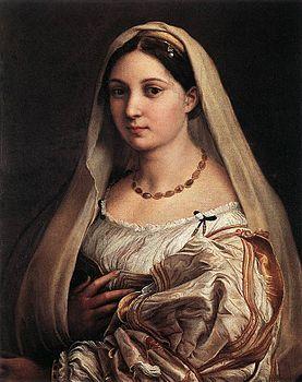 Raffaello Sanzio - Woman with a Veil (La Donna Velata) - WGA18824.jpg