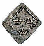 Raha; klippinki; markka; 2 markkaa - ANT2-631 (musketti.M012-ANT2-631 2).jpg