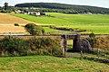 Railway bridge by the river Don - geograph.org.uk - 948925.jpg