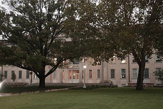 Texas Christian University - Sadler, TCU's Administrative Building