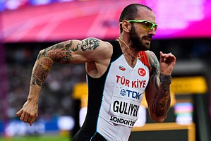 Ramil Guliyev - Ramil Guliyev at the 2017 World Championships in London