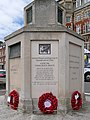 Ranger Memorial, Weymouth Esplanade (base detail 2) (geograph 5419282).jpg