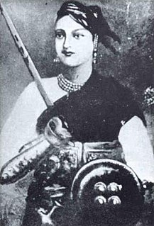 Rani of Jhansi queen of the Maratha-ruled Jhansi State