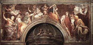 English: Raphael, The Sibyls, c. 1514 Fresco, ...