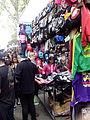 Rastro de Madrid, ropa, España, 2015.jpg