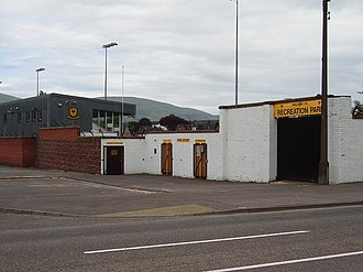 Alloa Athletic F.C. - Recreation Park has been Alloa's home since 1895.