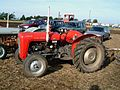 Red Massey Ferguson at the 55th British National Ploughing Championship, Soham, Ely, Cambridgeshire 2.jpg