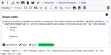 Regex editor for TemplateScript (as of 2020).png