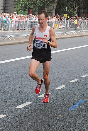 Canada at the 2012 Summer Olympics - Reid Coolsaet finished twenty-seventh in men's marathon.