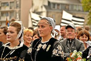 Festival de Cornouaille - Reine de Cornouaille 2014