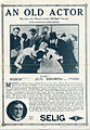 Release flier for AN OLD ACTOR, 1913.jpg