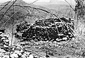 Remains of a stone-walled house at the deserted hilltop defensive site of Yagala, Sierra Leone (West Africa) (1954514426).jpg