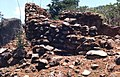 Remains of a stone-walled house at the deserted hilltop defensive site of Yagala, Sierra Leone (West Africa) (402076817).jpg
