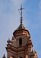 Remat del campanar de l'església de sant Esteve, València.JPG