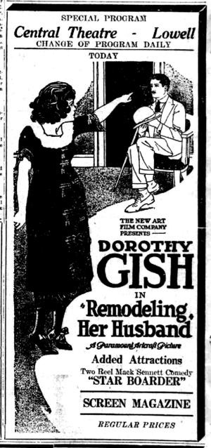 Remodeling Her Husband - Image: Remodel her husband newspaper ad