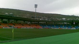 Ulisses FC - V. Sargsyan Rep. Stadium, the last home stadium used by Ulisses FC