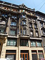Residential building. Five-story, monument mansion. ID 11521. East part. - Budapest District VII. Dohány Street. 16-18.JPG
