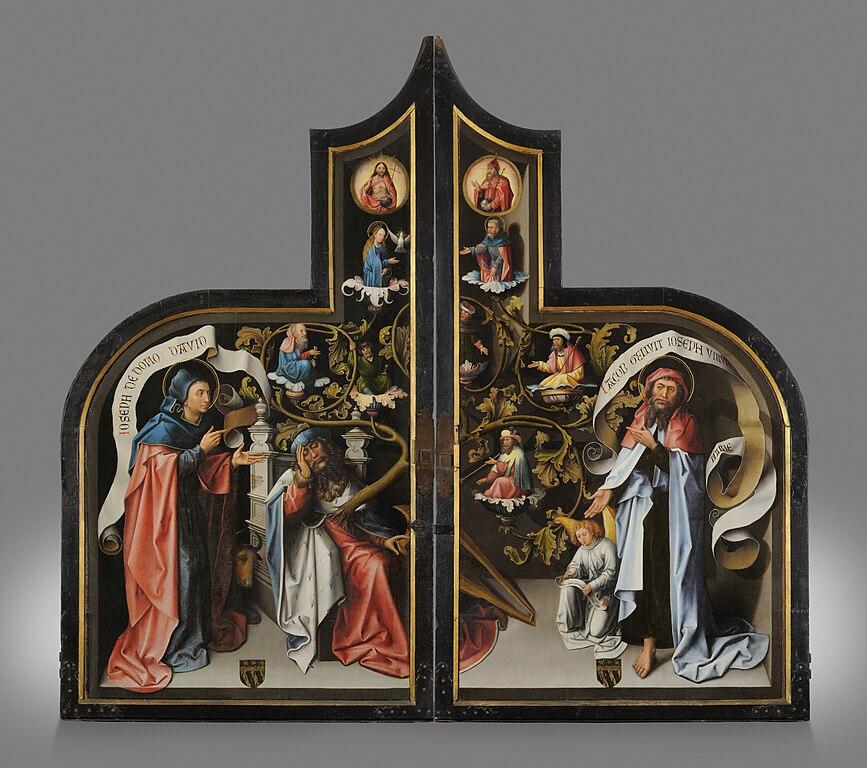 File retable de saluces volets peints exterieur p5 6 for Volet exterieur