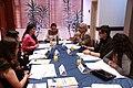 Reunión de los asambleístas que forman parte de la Unión Interparlamentaria UIP en representación del Ecuador, la misma que está liderada por la presidenta de la Asamblea Nacional, Gabriela (9300673983).jpg