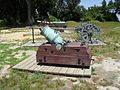Revolutionary War artillery on display at Yorktown Battlefield image 4.jpg