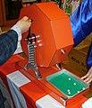 Revolving lottery machine,kaitenshiki-cyusenki,japan.JPG