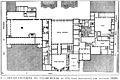 Rez-de-chaussée du Palais-Royal en 1679, plan reconstitué par Fontaine 1829 - Espezel 1936 p73.jpg