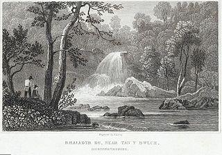 Rhaiadyr Du, near Tan y Bwlch, Merionethshire