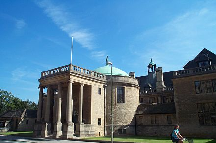 Rhodes House - home to the awarding body for the Rhodes Scholarships, often considered to be the world's most prestigious scholarship Rhodes House Oxford 20040909.jpg