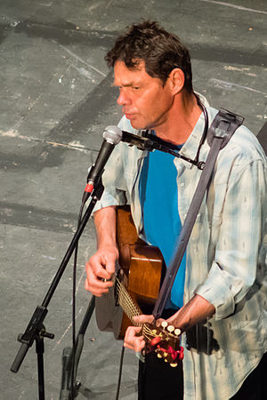 Rich Hall - Hall performing at York Theatre Royal, in 2014