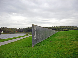 Richard Serra -  Sea Level (South-West part), Zeewolde, Netherlands
