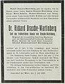 Richard von Drasche-Wartinberg Todesanzeige Wiener Salonblatt, 1923-07-21.jpg
