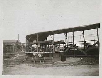 Ridgewood Park (baseball ground) - Ridgewood Park Grandstand, 1922