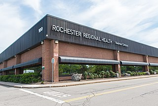 Rochester Regional Health hospital in New York, United States