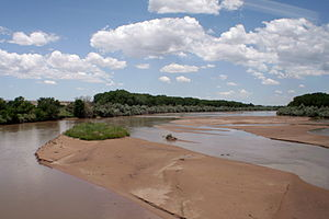 Middle Rio Grande Conservancy District - Rio Grande near Isleta Pueblo