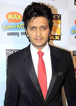 Riteish Deshmukh - Deshmukh at the Promotion of 'Kyaa Super Kool Hain Hum', 2012.