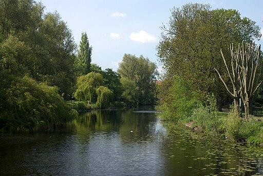River Soar at Abbey Park