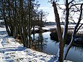 River Stour in the snow - geograph.org.uk - 1651839.jpg