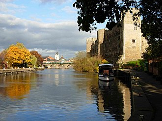 Robert Parsons (composer) - The River Trent at Newark