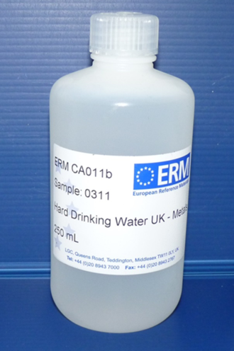 Certified reference materials - Image: River water CRM after bottling