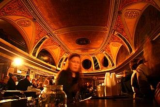 Riviera Theatre - Lobby of theatre, 2006