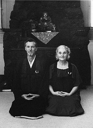 Anne Hopkins Aitken - Image: Robert Baker Aitken and Anne Hopkins Aitken 1