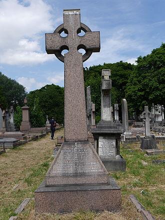 Robert Bourke, 1st Baron Connemara - Monument, Kensal Green Cemetery