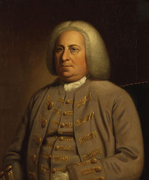 Robert Dinwiddie - Portrait by an unknown artist, c. 1760-1765