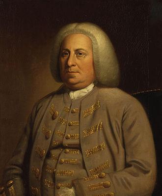 Dinwiddie County, Virginia - Portrait of Robert Dinwiddie; Dinwiddie County was named in his honor