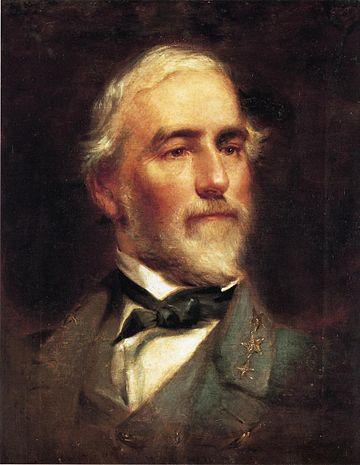 Robert E. Lee, President of Washington College from 1865-1870 Robert E Lee Edward Caledon Bruce 1865.jpeg