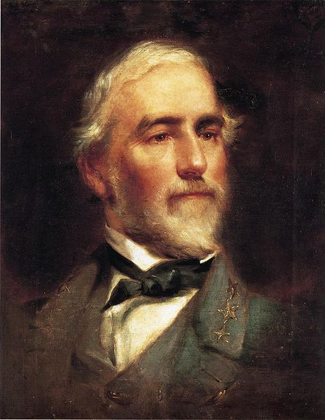 Wikipedia image of Robert E. Lee painting