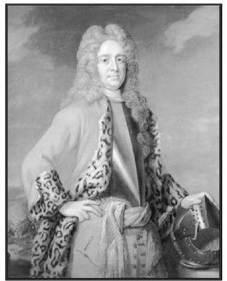 Robert Hunter (governor) - Portrait of Robert Hunter (portrait attributed to Sir Godfrey Kneller