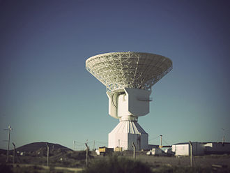 Malargüe Station - The Malargüe station antenna.