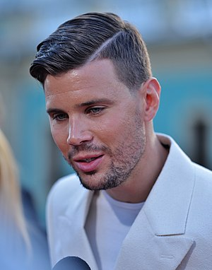 Sweden in the Eurovision Song Contest 2017 - Robin Bengtsson during the opening ceremony of Eurovision 2017