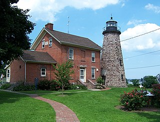 Charlotte–Genesee Lighthouse lighthouse in New York, United States